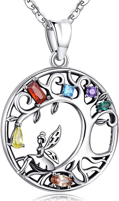 Unique Gift for Women Sterling Silver Pendant Necklace Silver Long Necklace