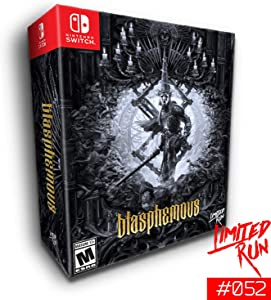 Blasphemous - Collector Edition (2 000 copies) - Limited Run #052 - Nintendo Switch