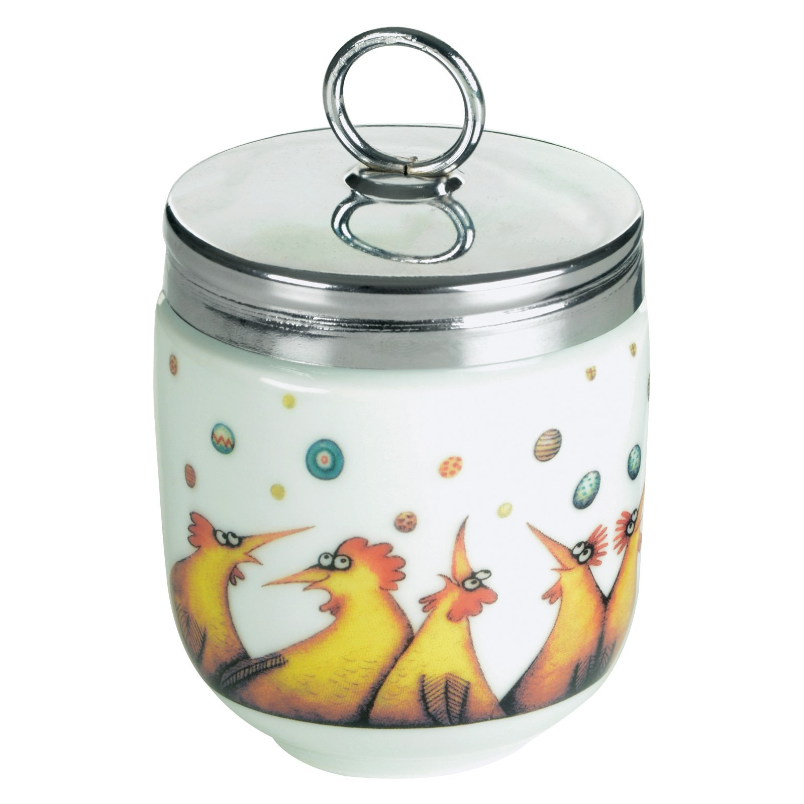 DRH Raining Eggss Egg Coddler For Easy Cook Meals and Ways To Cook Eggs In Porcelain Dish