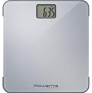 Rowenta Premio BS1220V0 - Báscula Digital de Baño, con Pantalla LCD, Dígitos Grandes,