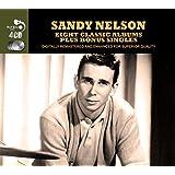 8 Classic Albums Plus Bonus Singles [Audio CD] Sandy Nelson