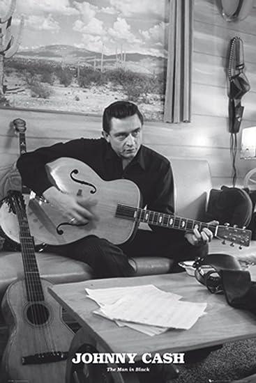 GB Eye Johnny Cash Man In Black Poster