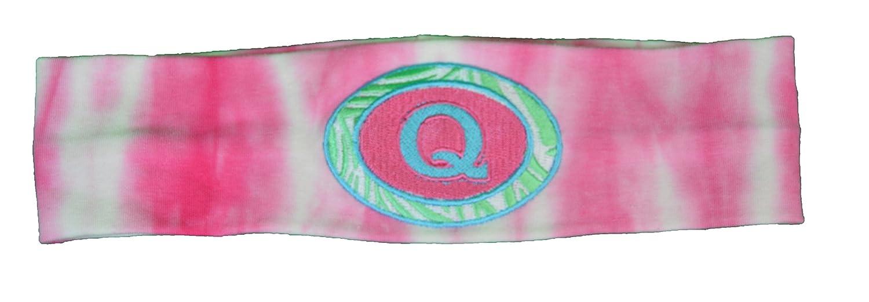 Amazon.com   Logo Loops Embroidered Initial Headbands Q   Beauty 735e10bd4bf