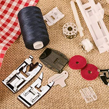 Waspde - Patas para máquina de coser, base overlock, 3 puntadas en ...