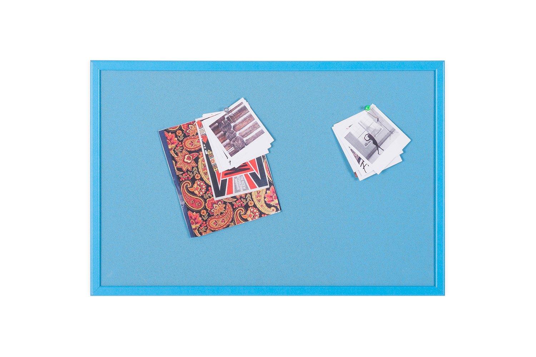 Bi-Office Scuola - Pannello In Sughero Giallo, 60 x 40 cm, Cornice MDF Giallo Bi-Silque SF121276641