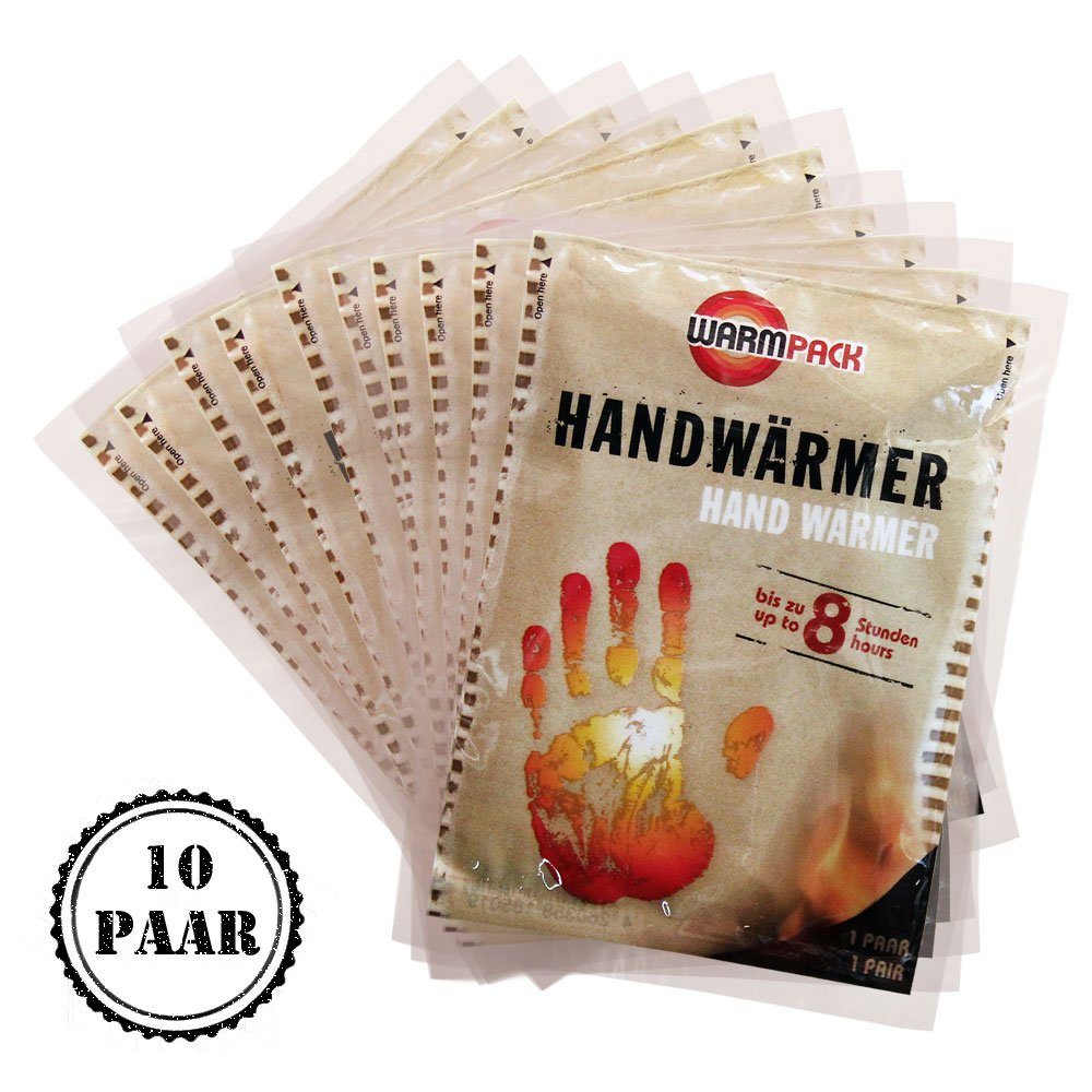 Warmpack de 10 chauffe-mains 51010