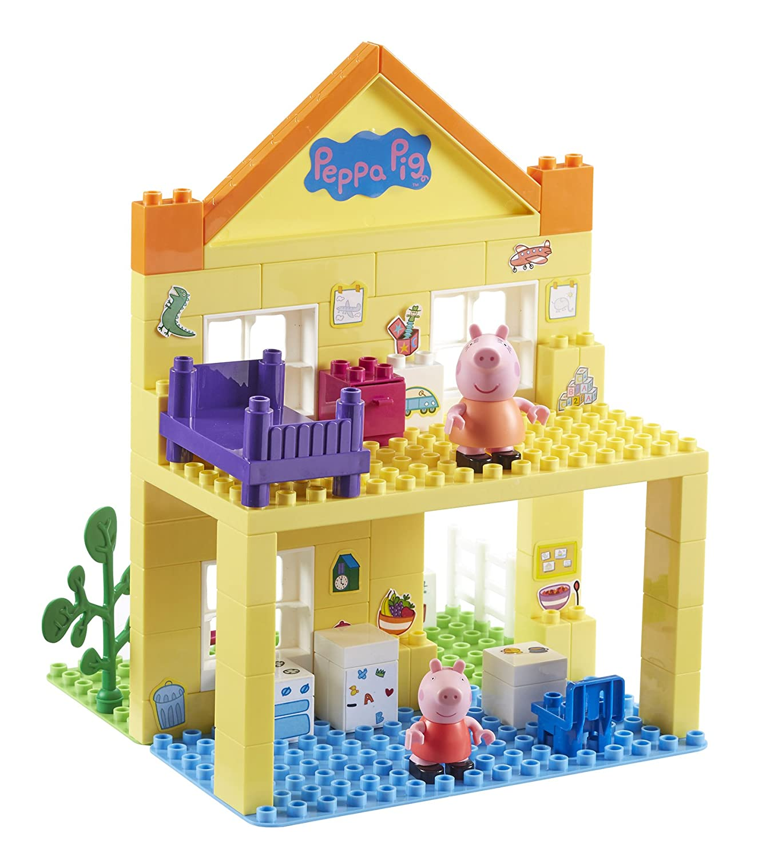 Delightful Peppa Pig Deluxe Peppau0027s House Construction Set (Multi Colour):  Amazon.co.uk: Toys U0026 Games