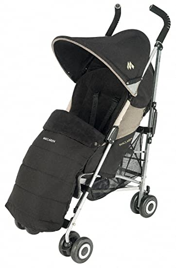 Maclaren Universal Footmuff, Black (Discontinued by Manufacturer)