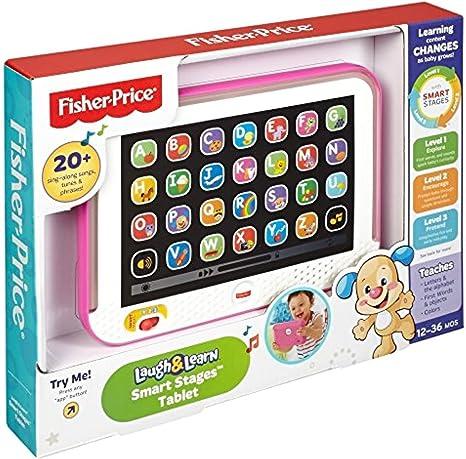 Fisher Price Laugh Aprender Inteligente Etapas Tablet Para Bebés Niños Niñas Rosa G Fbhre H4 8rdsf Tg1319851 Amazon Es Juguetes Y Juegos