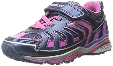 b600b4dd338b0 Geox J Bernie Girl 1 Sneaker (Toddler/Little Kid/Big Kid), Navy ...