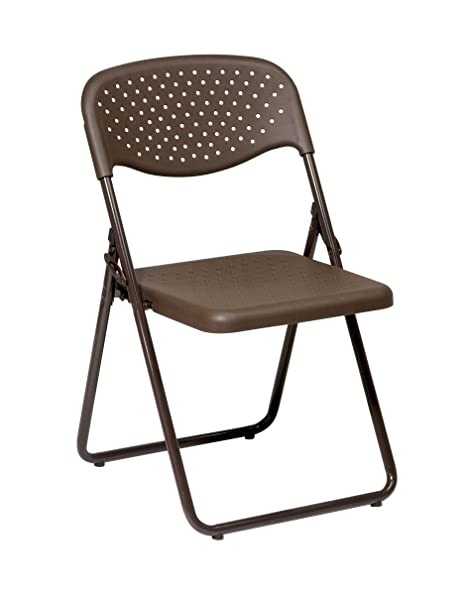 Amazon.com: Silla plegable con asiento y respaldo de ...
