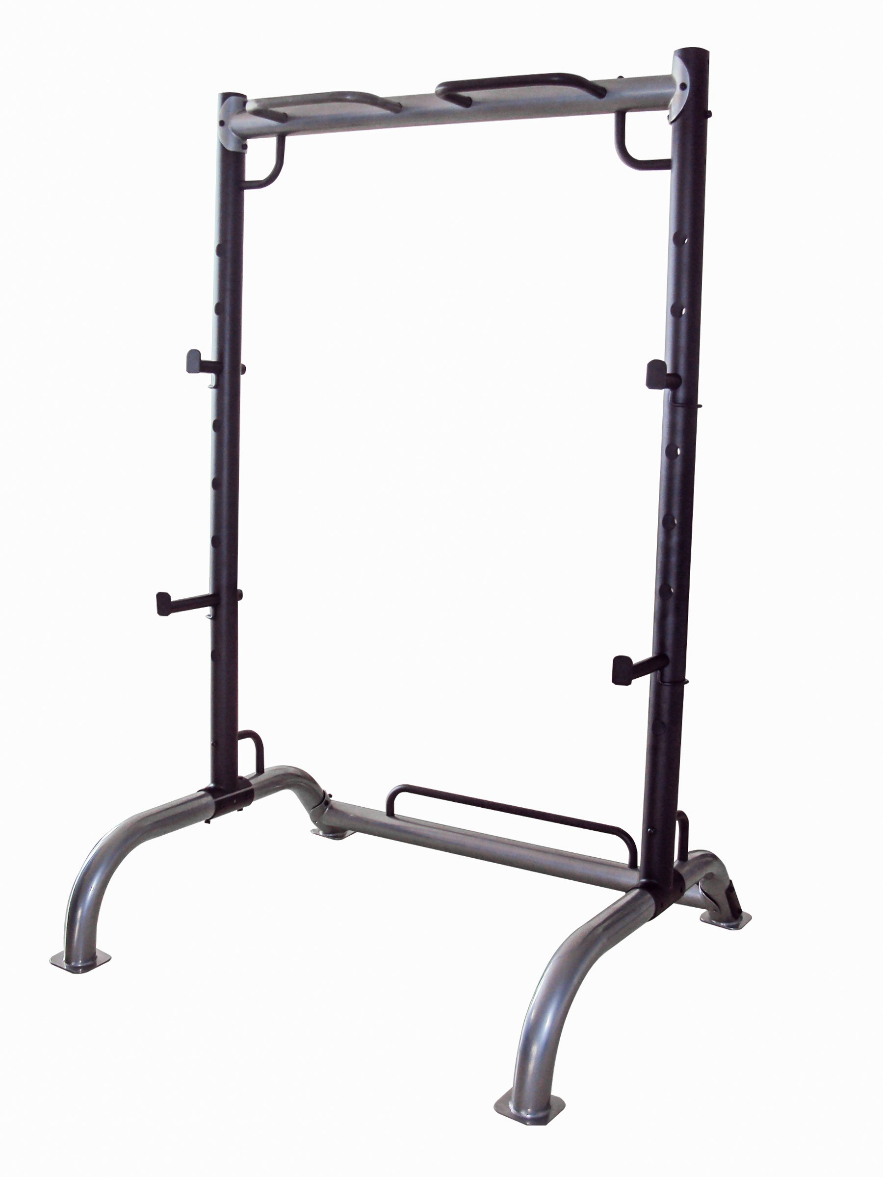 Marcy Cage Squat Rack Pull Up and Push Up Station with Olympic Barbell Catches MWB-70500 by Marcy