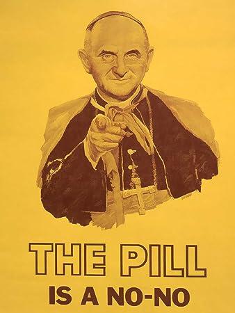 Amazon Com Propaganda Satire Pope Paul Vi Pill Sex Women Health