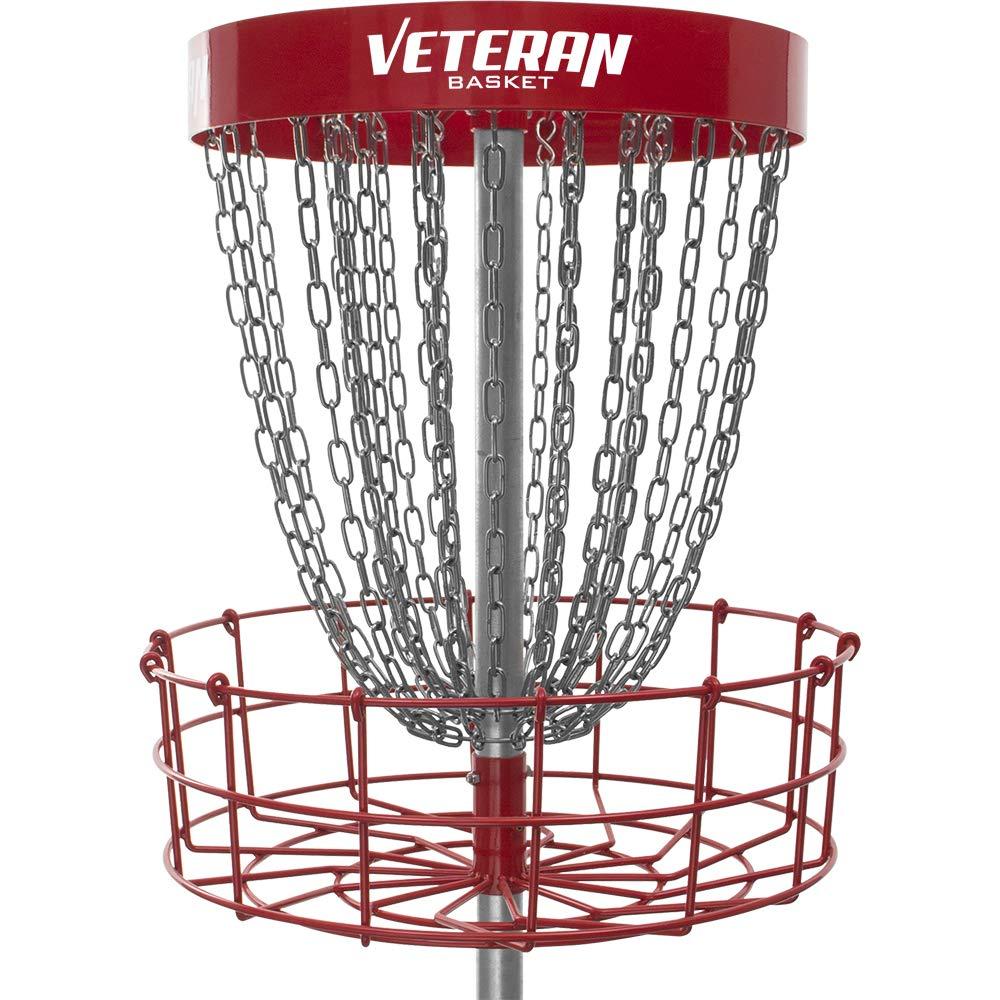 ダイナミックDiscs Veteranバスケットポータブルディスクゴルフバスケット – レッド B07BMCP1Z5