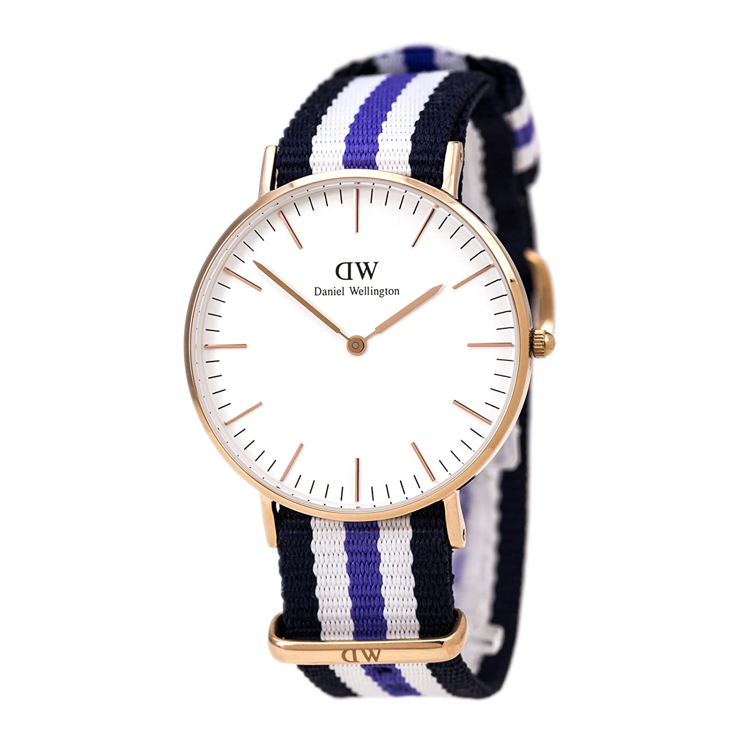 Daniel Wellington Damen-Armbanduhr Analog Quarz (One Size - weiß)