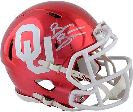 Brian Bosworth Oklahoma Sooners Autographed Riddell Chrome Alternate Speed  Mini Helmet with Inscription - Fanatics Authentic a5fd7908d