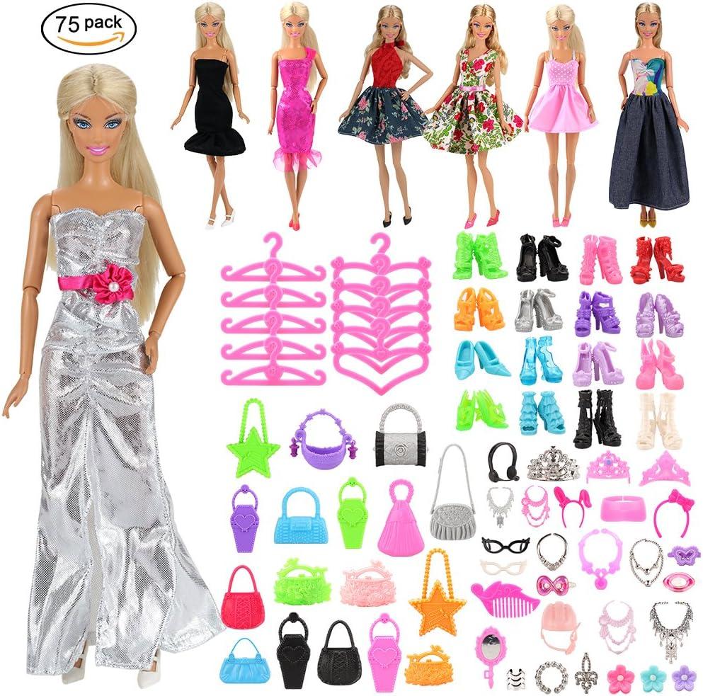 Amazon.es: Miunana 75x=5 Vestidos + +10 Zapatos + 10 Bolsas + 10 ...