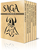 Saga Six Pack 5 – Erling the Bold, Big Peter and Little Peter, The Saga of Harald Hardrade, The Master Thief, A Sea Queen's Sailing and Bruin and Reynard (Illustrated)