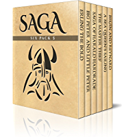 Saga Six Pack 5 – Erling the Bold, Big Peter and Little Peter, The Saga of Harald Hardrade, The Master Thief, A Sea…