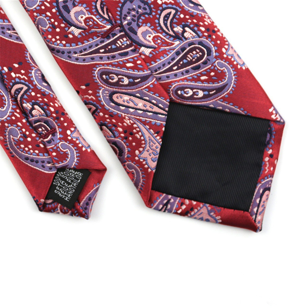 HXCMAN 7cm red flower floral 100/% silk classic design men tie necktie all-match party business evening wedding groom in gift box