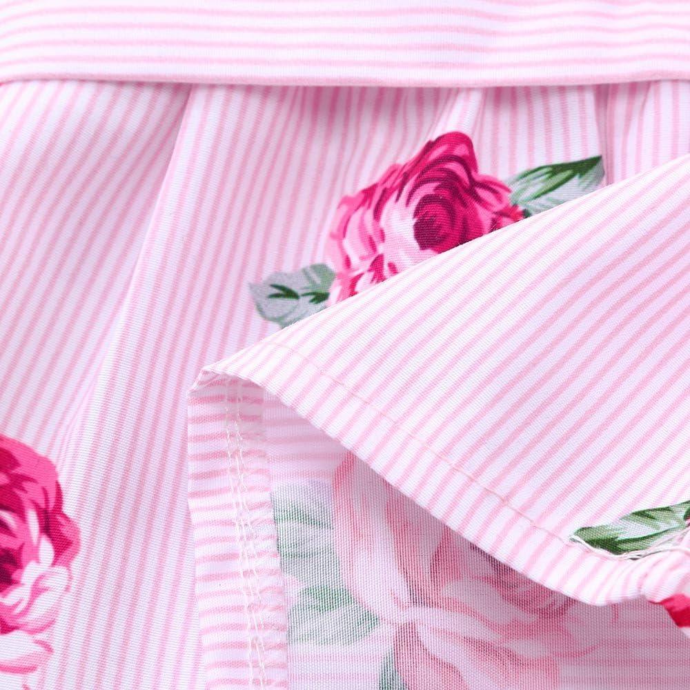 Lurryly Newborn Baby Girls Plaid Print Romper Jumpsuit+Lace Headband Clothes 0-24 M