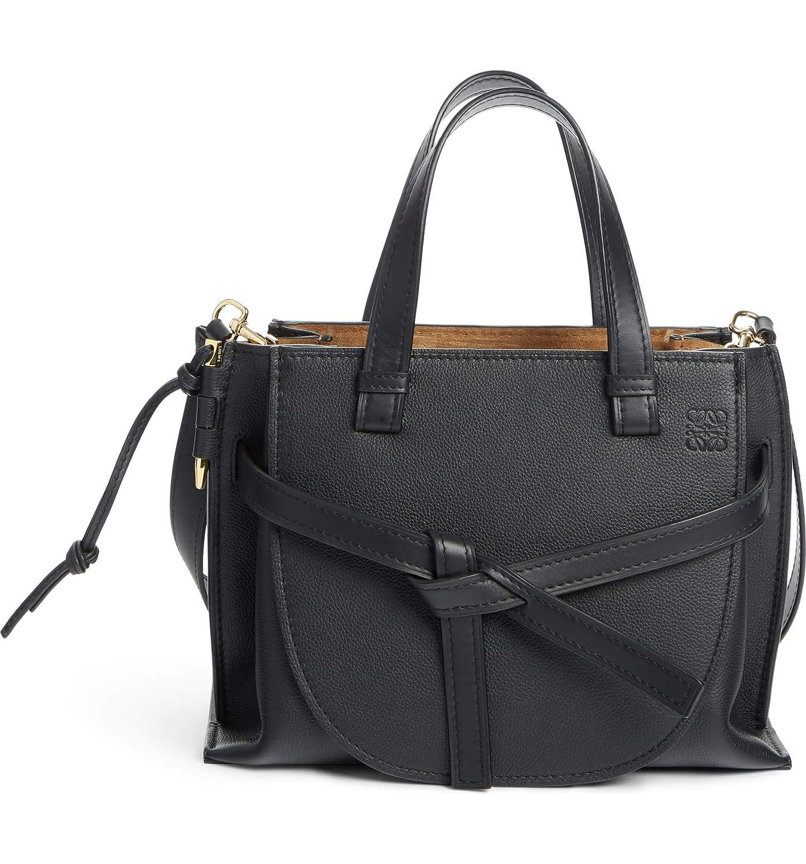 [ロエベ] レディース トートバッグ Loewe Gate Calfskin Leather Tote [並行輸入品] B07KZCWY5G  One-Size