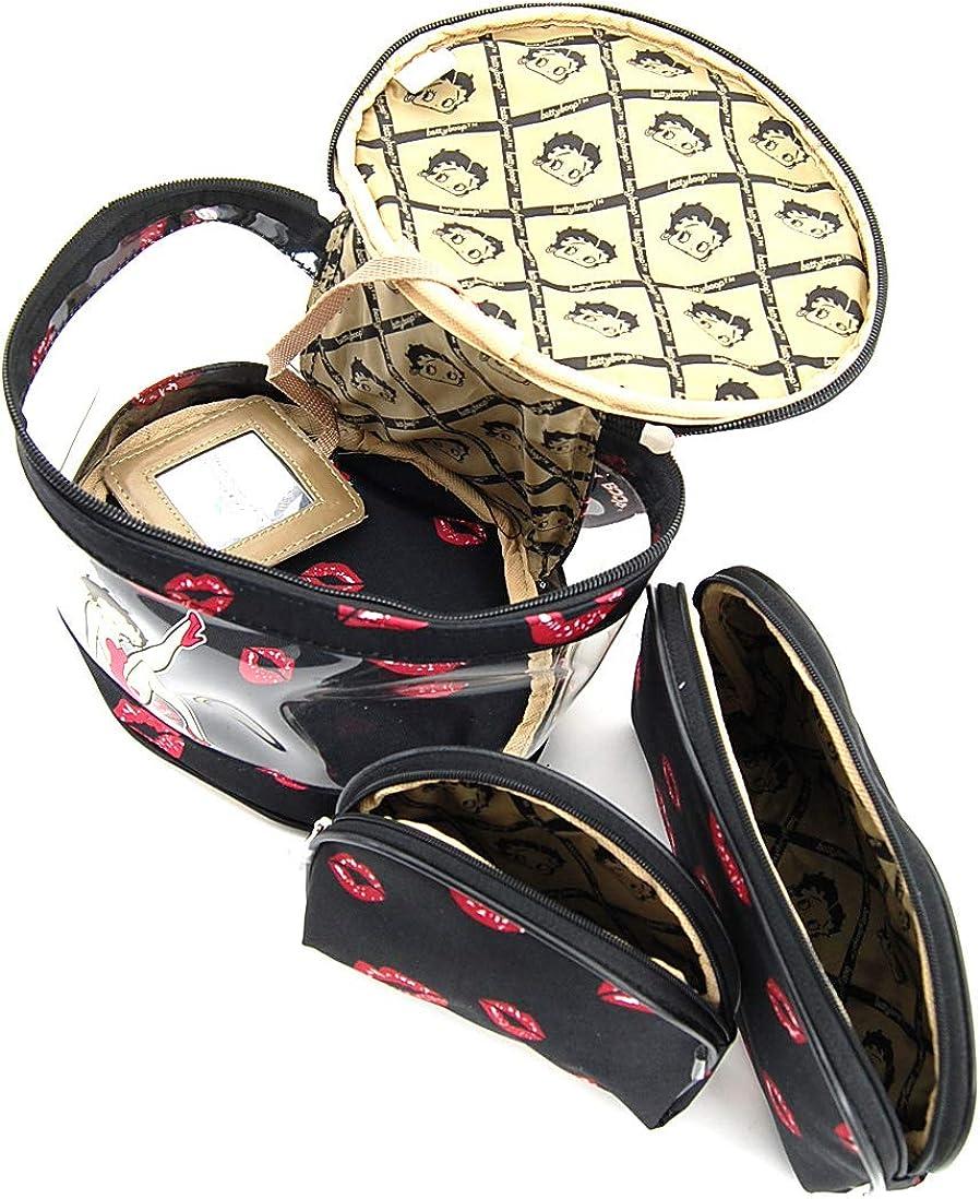 Amazon.com: Betty Boop bolsa de maquillaje conjunto de 3 ...