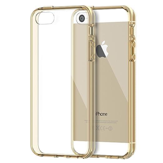 1268 opinioni per JETech iPhone SE / 5s / 5 Case Custodia Shock-Absorption Bumper Cover e