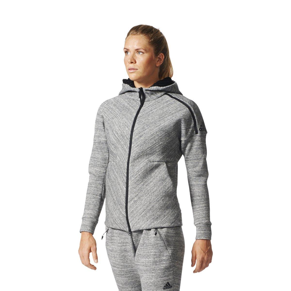adidas Womens Z.N.E. Hoody - Grey