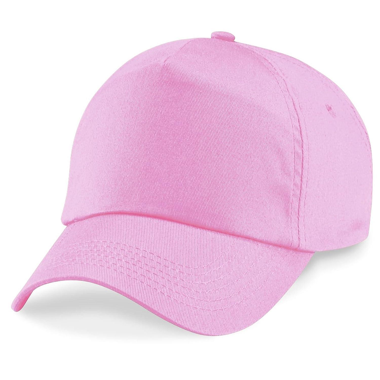 Beechfield Original 5 Panel Cap, verschiedene Farben Pink