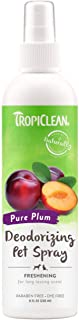 product image for TropiClean Deodorizing Sprays for Pets, Made in USA - Made in USA - Helps Break Down Odors to Effectively Deodorize Dogs and Cats, Paraben Free, Dye Free
