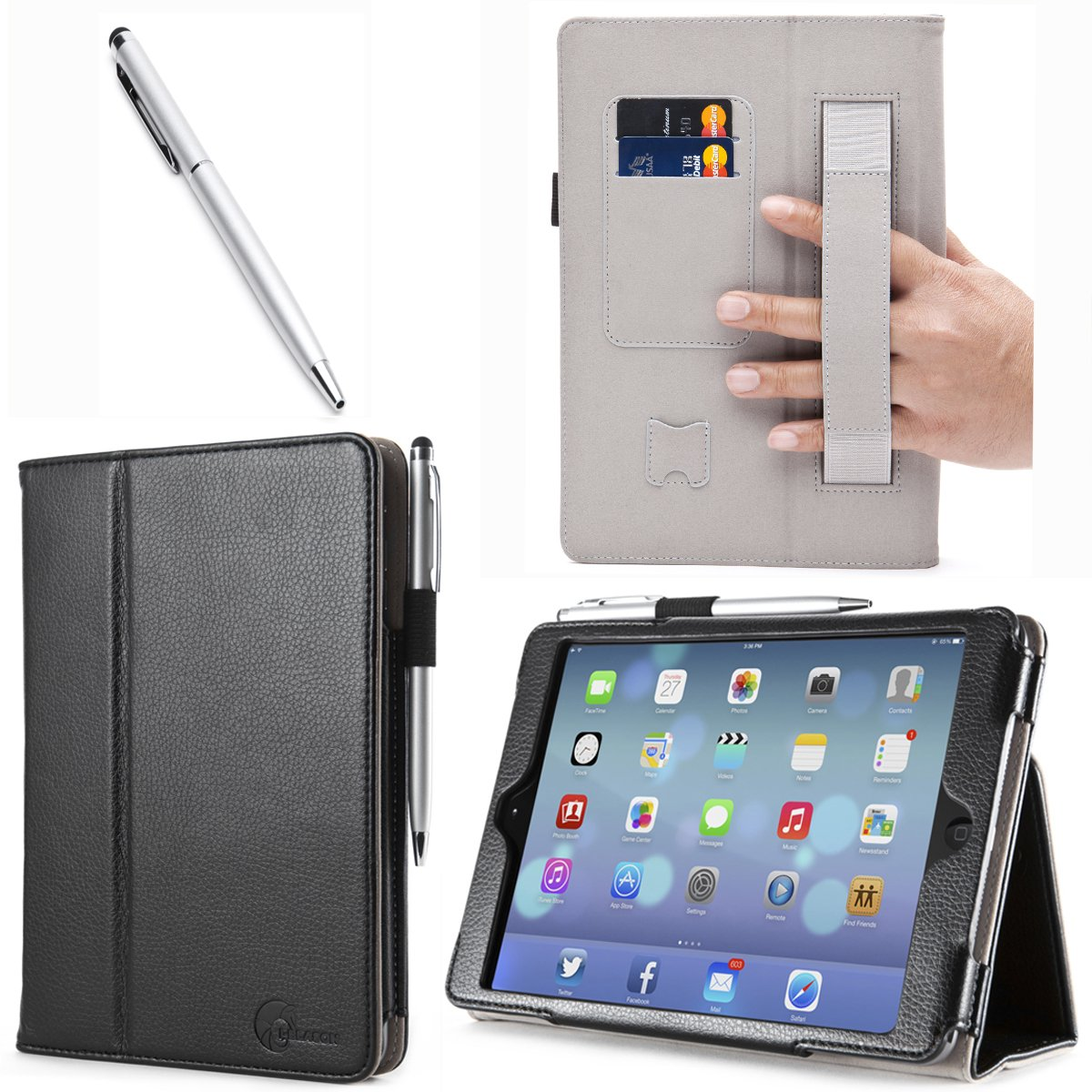 Amazon.com: iPad Mini Case, i-Blason Apple iPad Mini 3 Case [2014 ...