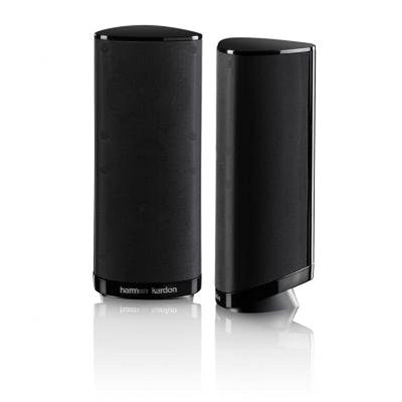Harman/Kardon HKS 4BQ Sistema de altavoces amplificados para Home Theatre de sonido envolvente de 2 canales, color negro: Amazon.es: Electrónica