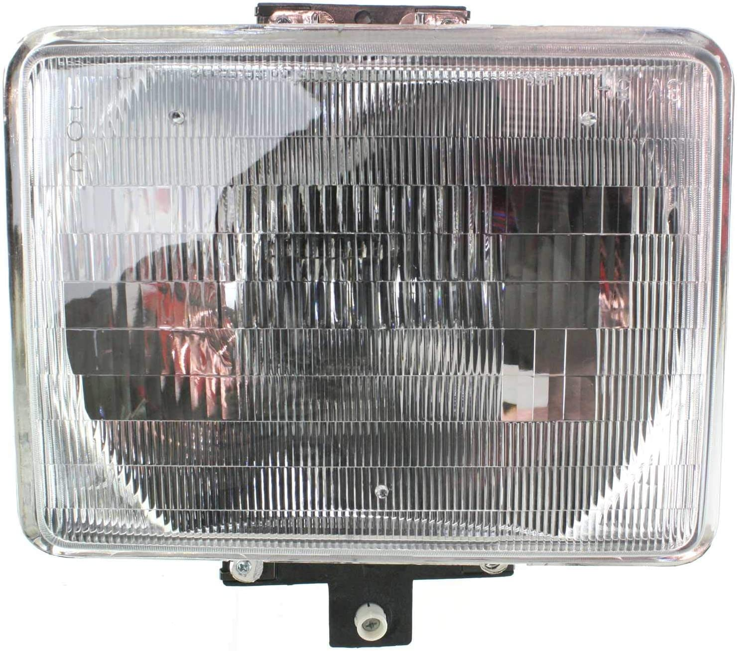 Headlight Compatible with FORD F-SERIES 92-97 LH Driver Side Assembly Halogen