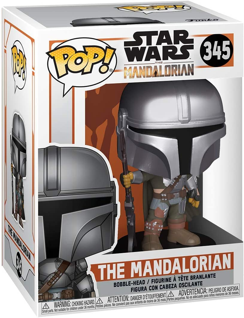 Multicolour Funko 45545 POP Star Wars The Mandalorian Collectible Toy