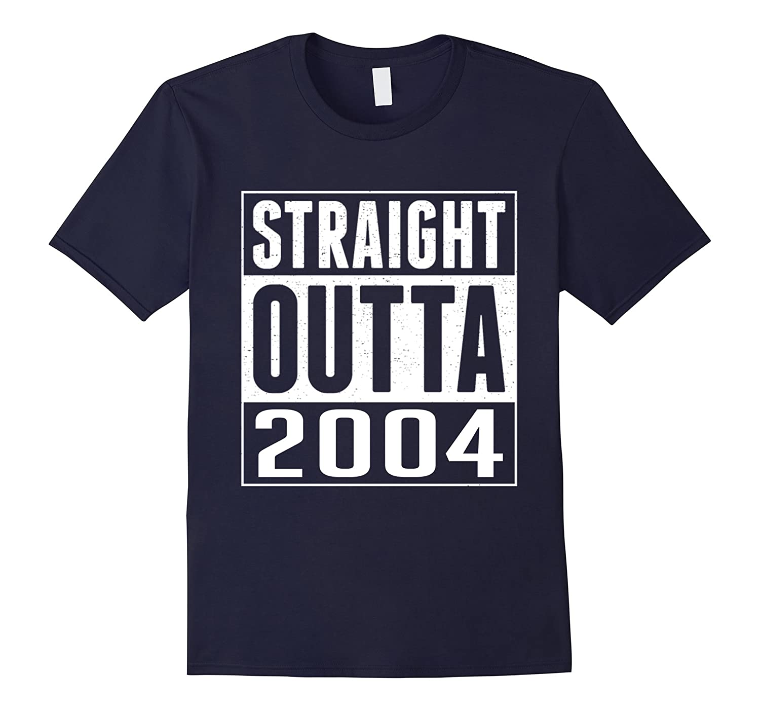 13th Birthday Gift T-Shirt STRAIGHT OUTTA 2004 Shirt-TH