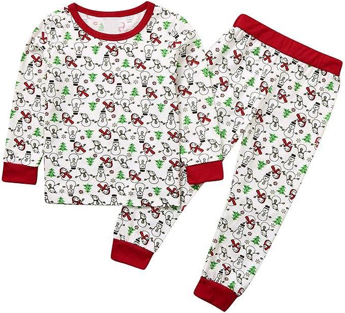 K-Youth Pajama Niños Conjunto Bebe Niño Navidad Conjunto Chandal ...