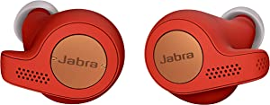 Jabra Elite Active 65t Earbuds – True Wireless Earbuds with Charging Case, Copper Red – Bluetooth Earbuds with a Secure Fit and Superior Sound, Long Battery Life and More