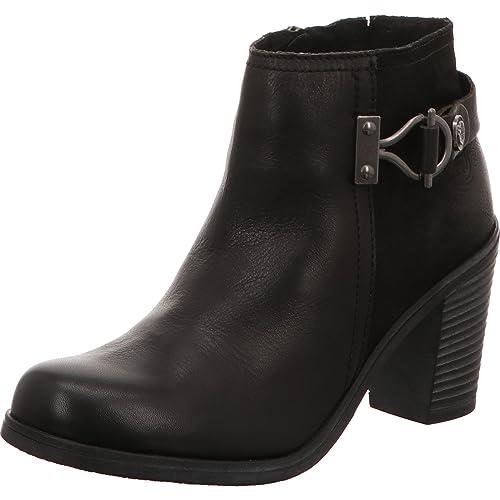 en Femme Cuir Boots MARCO 25023 27 BottesBottines TOZZI 34AjL5R
