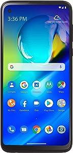 TracFone Motorola Moto G Power 4G LTE Prepaid Smartphone (Locked) - Black - 64GB - Sim Card Included - CDMA (TFMTXT2041DCP)