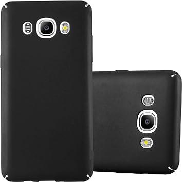 Cadorabo Funda para Samsung Galaxy J7 2016 en Metal Negro: Amazon.es: Electrónica