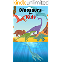 Dinosaurs For Kids: Book for Ages 2-7 for Kids, Toddlers, Boys, Girls, Kids, preschool&Kindergarten,2nd Grade Picture Book, Activities Book