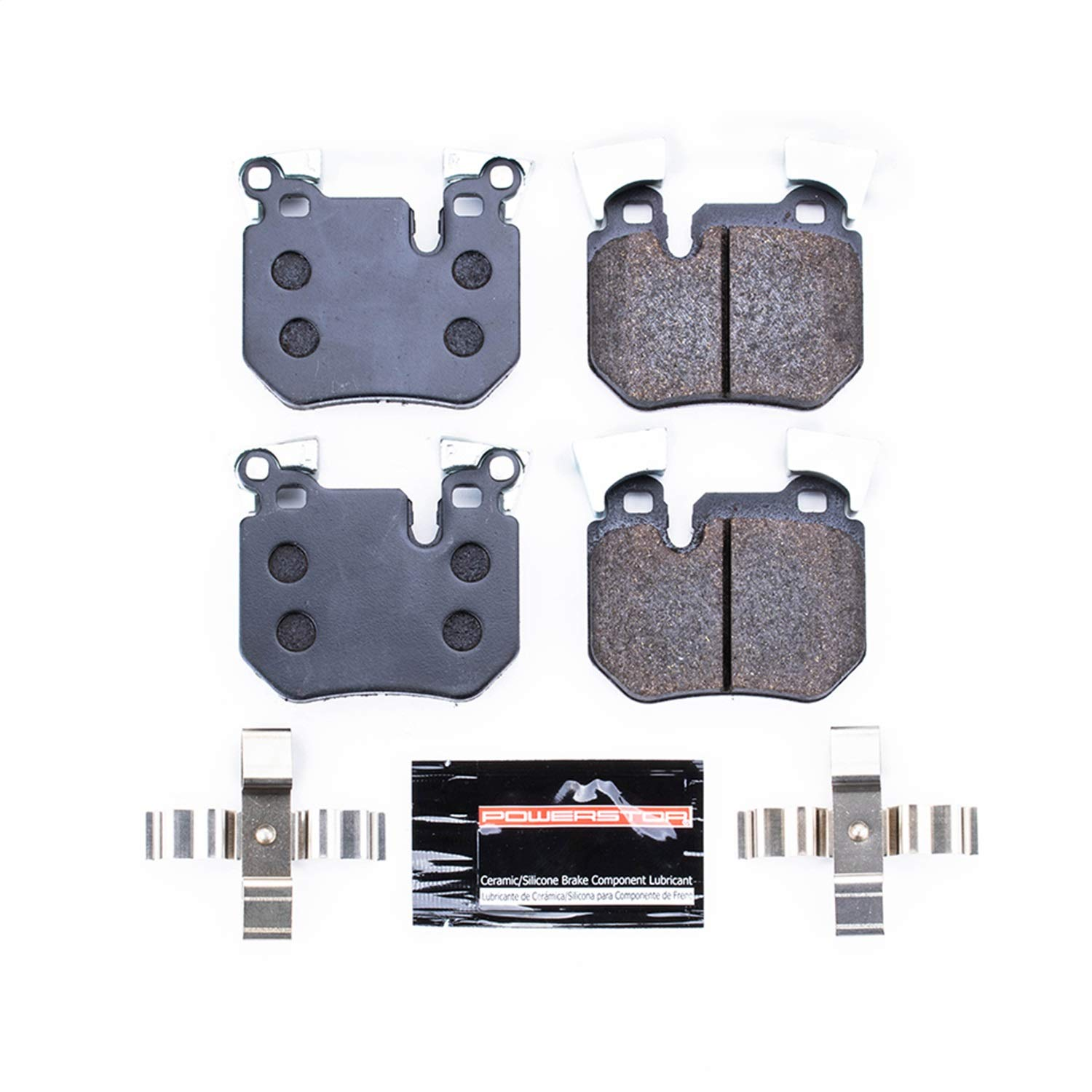Power Stop PST-1372 Track Day Rear Ceramic Brake Pads