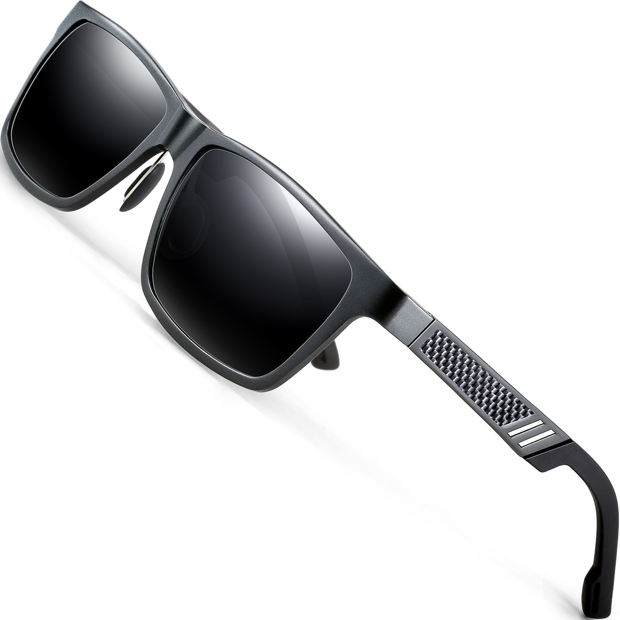 ATTCL Hot Retro Metal Frame Driving Polarized Sunglasses For Men Women product image