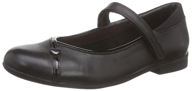 3970bb6f66 Clarks Jnr, Girls' Movello School Shoes: Amazon.co.uk: Shoes & Bags