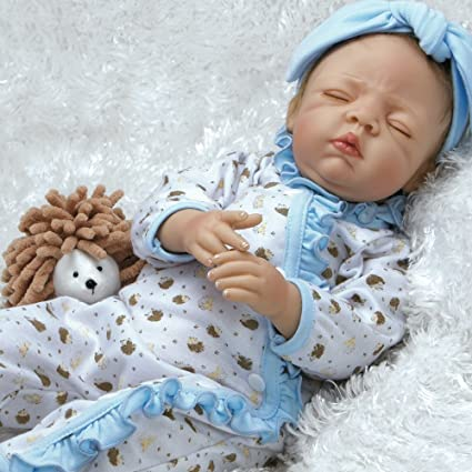 c56556d41 Amazon.com  Paradise Galleries Real Life Newborn Doll That Looks Real  Hannah   Harley