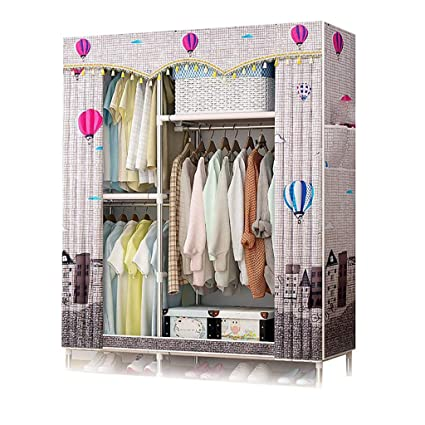 Delicieux GUHAIBO Cloth Wardrobe Closet,Closet Storage Hanging Shelves,Fabric Wardrobe  Storage,Oxford Cloth