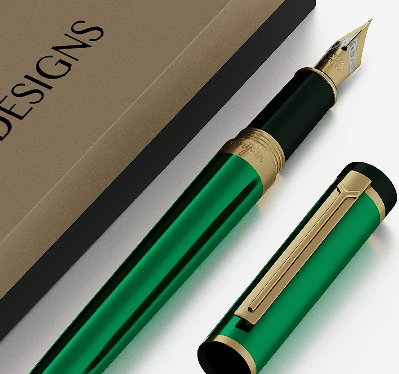 Estilográfica de Lujo Dryden [Verde Esmeralda] | Edición ...