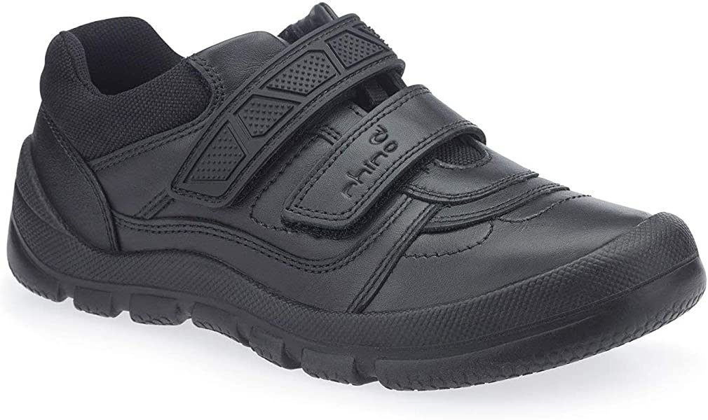6831db38a6a4f Senior Boys Rhino by Startrite School Shoes Rhino Warrior - Black Leather -  UK Size 7.5G - EU Size 41.5 - US Size 8.5: Amazon.co.uk: Shoes & Bags