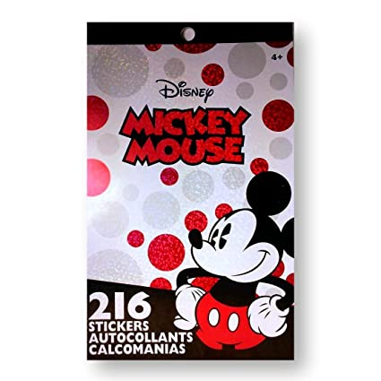 Amazon.com: Disney Mickey Mouse Stickers Booklet with 216 stickers: Arts, Crafts & Sewing